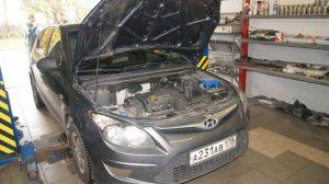 ремонт катализатора хендай i30