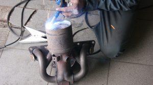 установка пламегасителя вместо катализатора